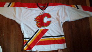 Calgary Flames Authentic NHL Jersey