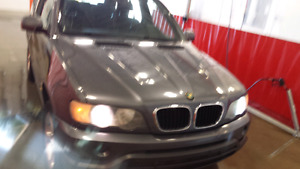 2002 BMW X5 ,Sport 3.0i V6 , Grey &black leather interior