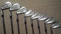 Callaway X V Forged / Callaway Prototype combo set irons - LH