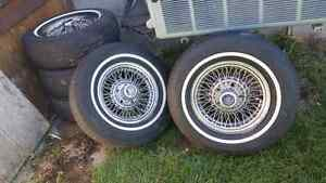 Cadillac Seville wire wheels for sale Gatineau Ottawa / Gatineau Area image 3