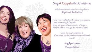 Sing A Cappella this Christmas