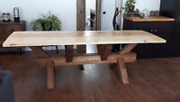 Table Pin et Pruce / Pine and Spruce Table