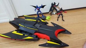 Batman Beyond - Animated - Toys - Batmobile - Action Figures lot