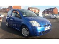 2006 06 CITROEN C2 1.4 HDi DESIGN.GREAT COLOUR.£30 ROAD TAX.60+ MPG.GREAT SPEC .