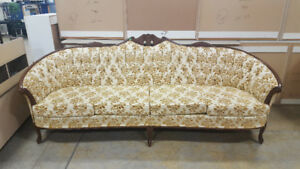 French Provincial Couch at Cambridge ReStore