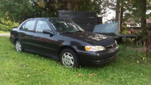 99 Toyota Corolla ($400 OBO)