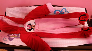 Girls Minnie mouse snowsuit