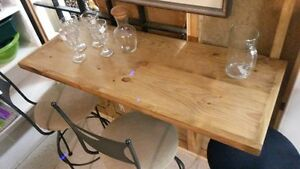 RURAL ROOTS DECOR SHOP:  wall waiter\bar table