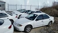 Factory Natural Gas Equipped 2004 Chevrolet Cavalier Sedans