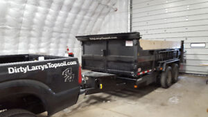 Dump trailer w/driver and truck for hire.... Dump trailer...