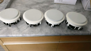 4 Ceiling speakers/ haut parleur plafond 4