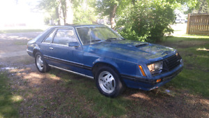 1979 Ford Mustang Turbo Foxbody Hatchback