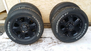 2016 dodge ram 3500 rims with 285/60r20 tires