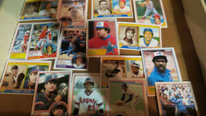 1983 O-Pee-Chee MLB cards(160)(Yaz,Bench,Fisk,Carter...)