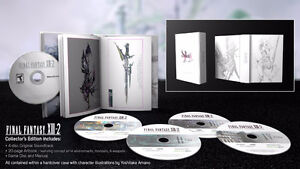 Final Fantasy 13 & 13-2 Bundle with collector's edition books