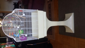 Bird Cage with Stand and all accessories