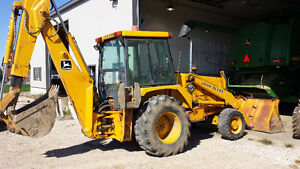 Experienced Backhoe operator needed full time in Richmond Hill