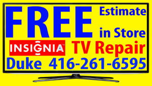 Insignia TV repair LED HDTV, LCD TV, NO POWER