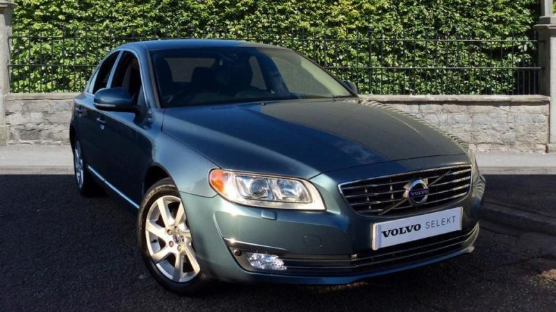 2014 Volvo S80 D3 (136) SE Lux Nav Auto with Automatic Diesel Saloon