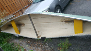 Canoe 16'  fibreglass