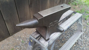 100lb Brooks blacksmith anvil