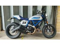 Ducati Scrambler Cafe Racer, 2018, 2,875 Miles, Immaculate Condition, 3 Owners