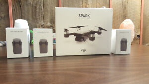 DJI Spark Fly More Combo - 5 BATTERIES And More - $750 O.B.O