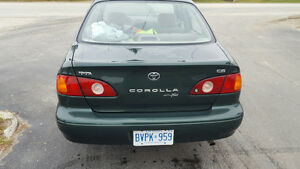 2002 Toyota Corolla green Other Kawartha Lakes Peterborough Area image 2