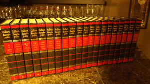 1960's set of COLLIERS'S ENCYCLOPEDIAS, 1-20