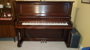 Mason and Risch Upright Piano and Bench