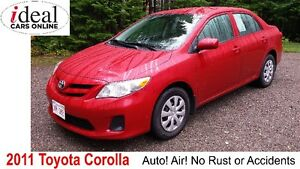 LOWEST PRICED  2011 Toyota Corolla on Kijiji in the Maritimes!