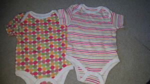 6-12 month onsies hardly warn euc 1$/both