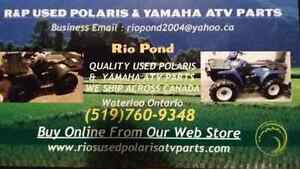 USED POLARIS & YAMAHA  ATV PARTS  WE SHIP ACROSS CANADA.