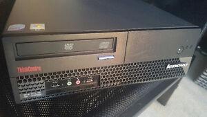 like new lenovo m57 with e6550/80GB/1GB/DVD