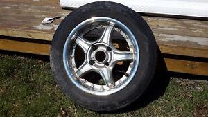 4 pneus sur jante