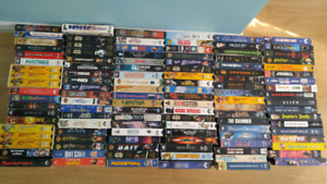 113 VHS and shelf
