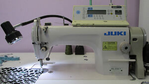 INDUSTRIAL SEWING MACHINES AND SERGERS--
