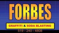 Media blasting/Restoration.  Forbes Mobile Wash LTD