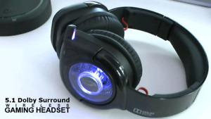 After glow pc headset