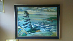 Group of seven painting from Wilson -replica