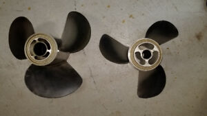 Volvo Penta duoprop stainless F7 front and rear