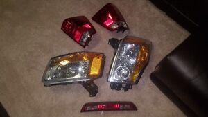 2014 nissan titan headlight,tails,brake