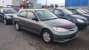 2004 Honda Civic SE,auto,air,GARANTIE 1 ANS GRATUITE Berline
