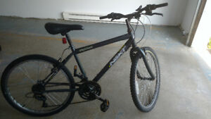 "Mountain Bike for sale. 18"" for $35."