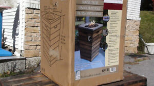 ~BRAND NEW~ Propane Patio Heater w/ Real Fire ~WORTH $350~