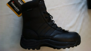 SWAT STEEL TOE CSA APPROVED SAFETY BOOTS SIZE 8 MEN 10 LADY