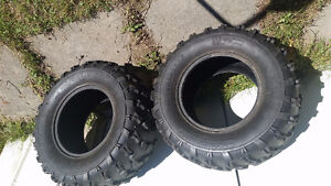 2 Atv directional tires