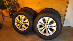 4 BF Goodrich winter tires with rims