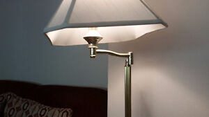 Two Floor Lamps on Sale for $10.00 each.