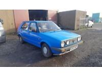 1991 H PLATE Volkswagen Golf 1.3 COLLECTORS ITEM